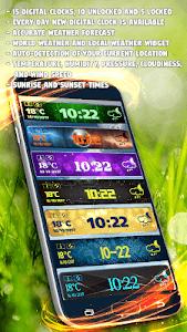 Download Digital Clock Weather Widget 1.3.9 APK