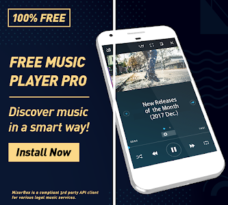 screenshot of (Download Now) Free Music MP3 Player PRO version 9.15