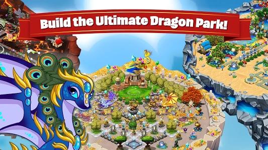 screenshot of DragonVale version 4.12.1