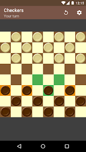 screenshot of Checkers version 1.11.7