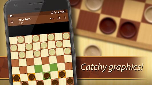 screenshot of Checkers version 1.56.0