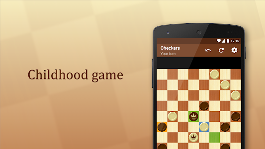 screenshot of Checkers version 1.47.4