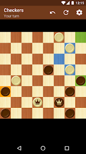 screenshot of Checkers version 1.18.0