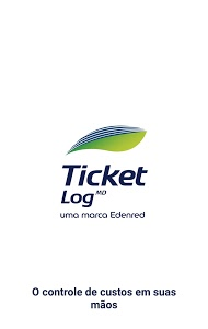 screenshot of Ticket Log version Varies with device