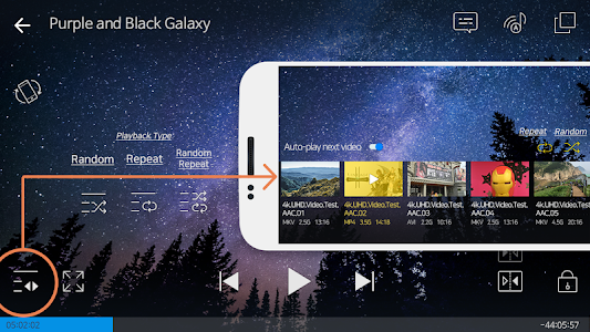 screenshot of FX Player - video player all format version 1.6.1