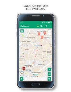 screenshot of Family GPS tracker Kid Control version 3.4.0