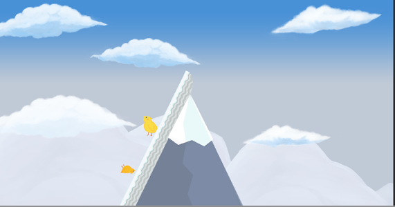 screenshot of FlatFall version 0.3