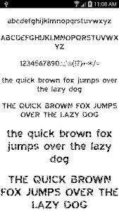 screenshot of Fonts for FlipFont 50 #6 version 3.23.0