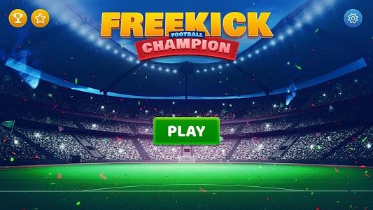 screenshot of Free Kick Football Сhampion version 1.1
