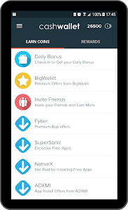 screenshot of Free Gift Cards, Paypal Cash and Money version 1.0.77