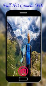 screenshot of Full HD Camera (3D) version 1.0.0