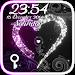 Download GO Locker Star Heart (Gray) 2.7 APK