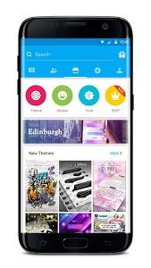 screenshot of GO SMS Pro - Messenger, Free Themes, Emoji version 7.83