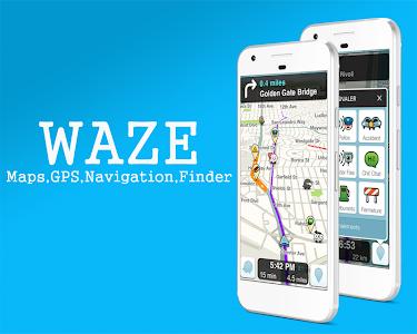 Download GPS Waze Maps , Finder , Traffic , Alerts 1.5 APK