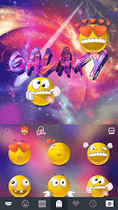 Download Galaxy Emoji keyboard Theme 1.0 APK