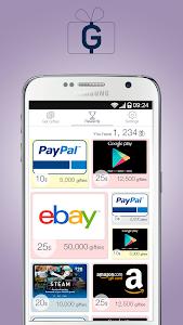 screenshot of Gifties - Gift Cards & Rewards version 1.18