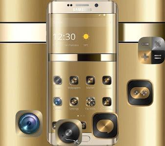Download Gold Curve Luxury Design Theme 1.1.5 APK