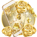 Download Gold Rose Theme luxury gold 1.1.11 APK
