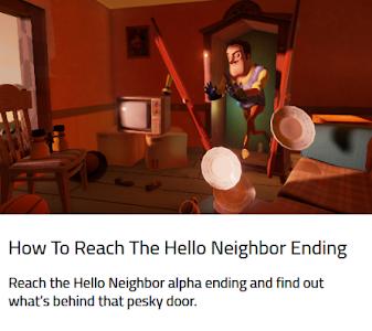 Download Guide Hello Neighbour 1.0 APK