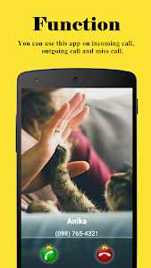 screenshot of Full Screen Caller ID version 3.5.0