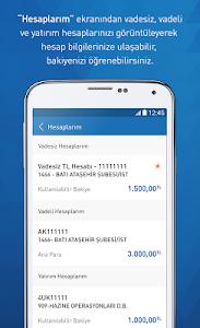 screenshot of Halkbank Mobil version 1.9.4