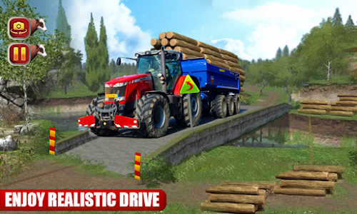 Download Heavy Duty Tractor Cargo Transporter 3D 1.0 APK