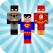Download Heroes Skins for Minecraft PE 1.8.0 APK