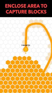 screenshot of Hexar.io version 1.1.0