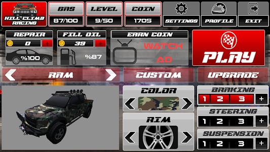 screenshot of Hill Climb Race 3D 4x4 version 2