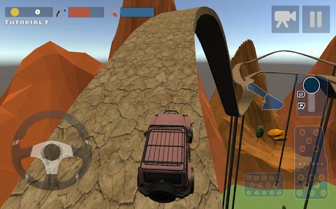 screenshot of Hill Climb Race 3D 4x4 version 3.2