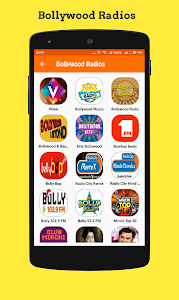 screenshot of Hindi Radio Online version 1.5