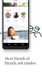 screenshot of Hinge: Dating & Relationships version 5.6.3