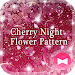 Download Icon Wallpaper Cherry Night - Flower Pattern Theme 1.0.0 APK