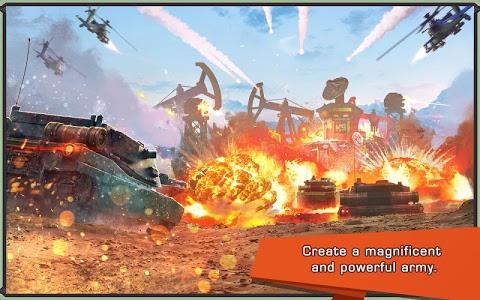 screenshot of Iron Desert - Fire Storm version 6.3
