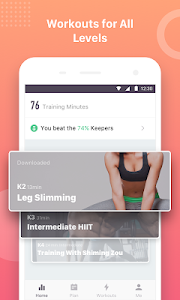Download Keep Trainer - Workout Trainer & Fitness Coach 1.19.0 APK