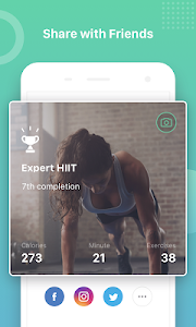 screenshot of Keep Trainer - Workout Trainer & Fitness Coach version 1.25.1