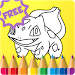 Download Kids Coloring for Pokemon 1.0 APK
