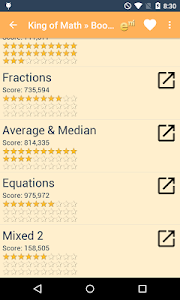 screenshot of King of Math version Varies with device