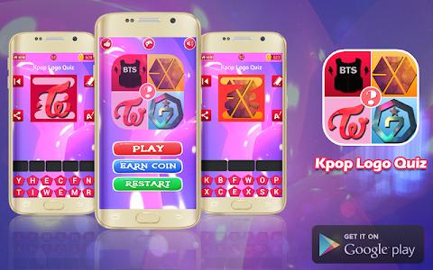 screenshot of Kpop Quiz Guess The Logo version 1.2