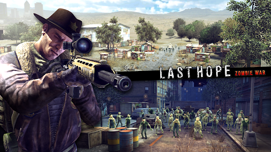 Download Last Hope Sniper - Zombie War: Shooting Games FPS 1.42 APK