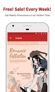 screenshot of Lezhin Comics - Daily Releases version Varies with device
