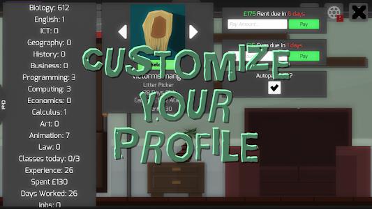 screenshot of Life Simulator version 2017.6.6