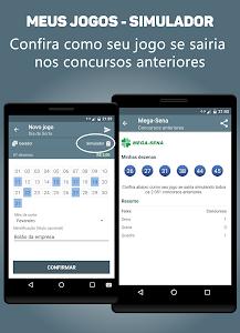 screenshot of Loteria Fácil - Resultados das Loterias version 1.0.71