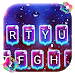 Download Luminous Neon Raindrops Keyboard Theme 1.0 APK