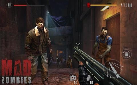 screenshot of MAD ZOMBIES : Offline Zombie Games version 5.6.0