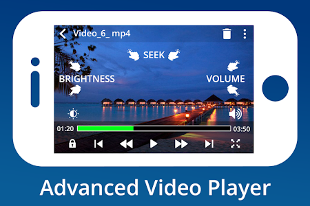 screenshot of MX Video Player version 1.2