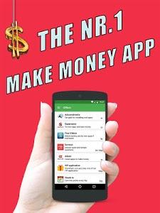 screenshot of Make Money App version 1.8.0