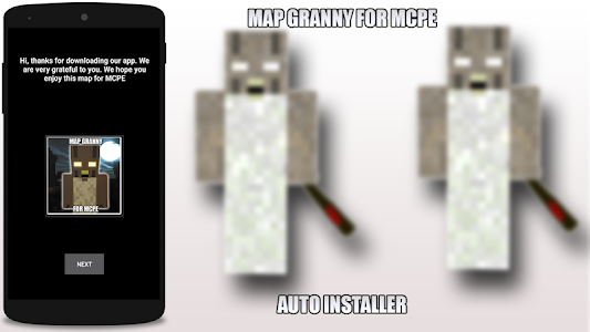 Download Map Granny for MCPE 1.0 APK