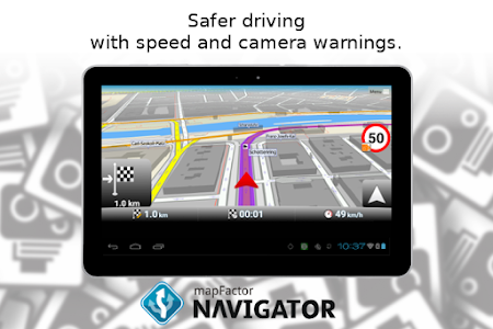 Download MapFactor GPS Navigation Maps  APK