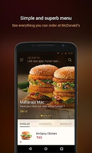 Download McDelivery- McDonald's India: Food Delivery App 6.8 APK